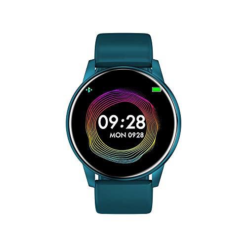 ADGN Smartwatch Fitness TrackerOrologio da Uomo Intelligente di Pressione di 1.3 Pollici Fitness Tracker Heart Rate Monitor Sangue Impermeabile Intelligente Guarda,Blu