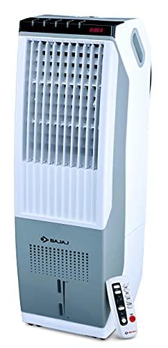 (Renewed) Bajaj TC 103 DLX Digital Tower Air Cooler – 22L, White