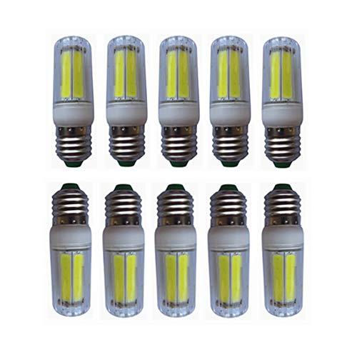 HUBINGRONG E26 / E27 Bombillas LED de maíz 8W Bombillas LED Tipo Vela Bombillas LED Tipo candelabro Bombillas incandescentes 50W...