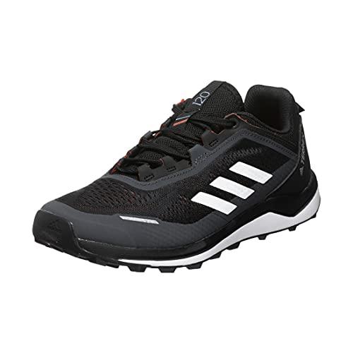 adidas Terrex Agravic Flow K, Zapatillas de Trail Running Unisex Adulto, NEGBÁS/Balcri/Rojsol, 39 1/3 EU