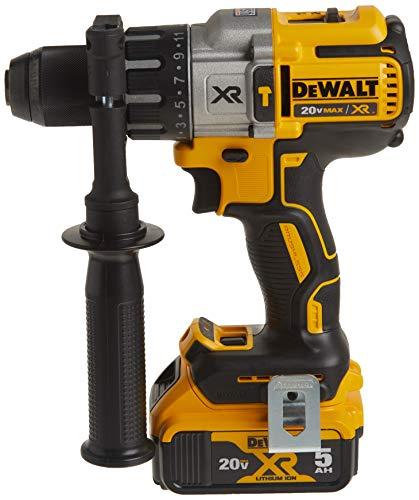 DEWALT 20V MAX XR Hammer Drill Kit, Brushless, 3-Speed (DCD996P2)