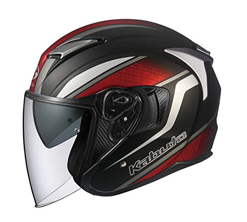 オージーケーカブト(OGK KABUTO)バイクヘルメット ジェット EXCEED DEUCE(デュース) フラットブラック (サイズ:XS) 584528