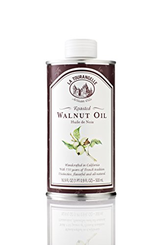 La Tourangelle, Roasted Walnut Oil, 16.9 Ounce Cans (Pack of 3) (Packaging may Vary)
