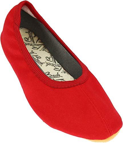 Beck Basic, Zapatillas de Gimnasia Unisex Adulto, Rojo (Rot 07), 37 EU