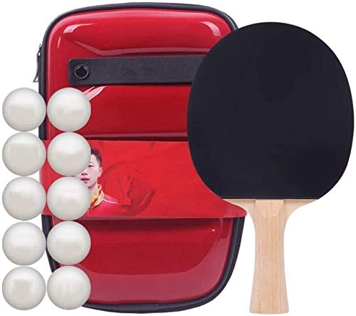 Best Buy! Professional Ping Pong Paddle Racket Table Tennis Bats Set Rubber Table Tennis Bat Profess...