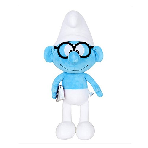 "Smurfs Brainy Smurf, Stuffed Animals Plush Toy for Kids Room Decoration 15"""