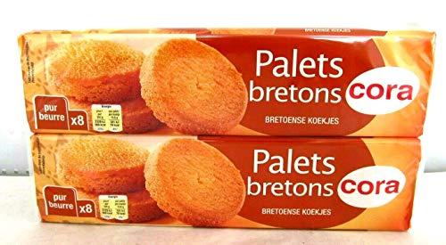 Cora Palets bretons Kekse aus Frankreich 2x125g. insgesamt 250 g.