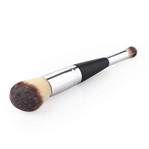 Brocha de maquillaje profesional de doble punta para mezclar maquillaje, herramientas de maquillaje de 16 cm