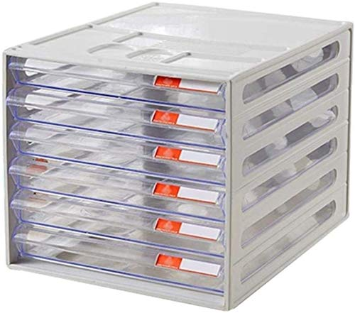 Armadietto di archiviazione, file di riviste Armadio multifunzionale, armadio di file, cassetto in resina trasparente, direttore diverso Gestore in plastica, cabinet di file A4, cabina di archiviazion