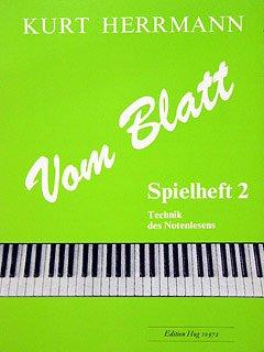 VOM BLATT 2 - PRIMAVISTA LEHRGA - arrangiert für Klavier [Noten / Sheetmusic] Komponist: HERRMANN Kurt