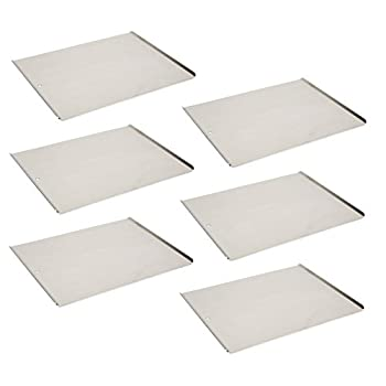 Vollrath 68085 Wear-Ever Cookie Sheet Pans Set of 6  17-Inch X 14-Inch Natural Finish Aluminum NSF