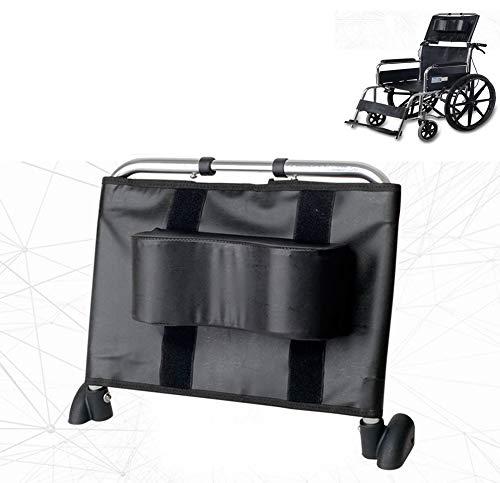 """Rollstuhl Kopfstütze Nackenstütze Komfortable Rückenlehne Kissen, Einstellbare Erhöhung Polsterung Für Erwachsene Portable Universal Rollstuhl Zubehör, 16""""-20.5"""" (Schwarz)"""