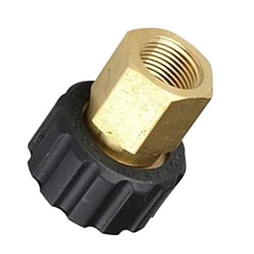 Preisvergleich Produktbild Schlauchanschluss Stecker Adapter Stecktuellen / Schlauchtuelle Hochdruckreiniger,  Female M22 X 1, 5 Mm an Female G3 / 8