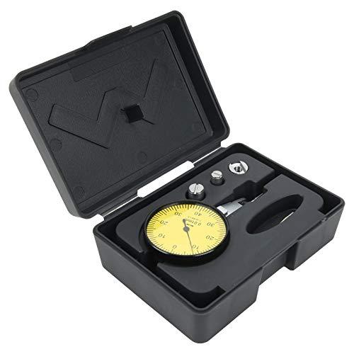 Indicador de prueba de esfera, indicador de esfera de acero inoxidable, portátil de alta precisión de 0-0,8 mm para joyas de piezas de trabajo