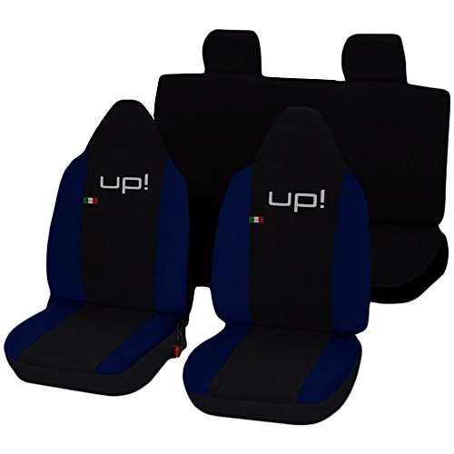 Lupex Shop Up_N.BS Coprisedili, Nero/Blu Scuro
