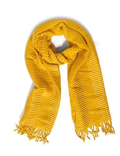 Street One Damen 571329 Mode-Schal, amber yellow, One Size