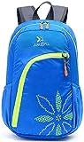 YJIUJIU - Mochila para bicicleta (30 L, impermeable, transpirable, para correr, senderismo, escalada, camping, esquí, senderismo, maratoner, hombres, mujeres, color azul