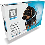 Dachshund 2100 pcs Mini Blocks Dog Building Set - Your Very Own Mini Pet Companion Nano Block Kit - 14 Years Old and Up (Dachshund)