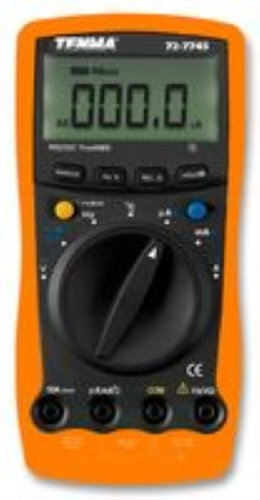 TENMA 72-7745 MULTIMETER DIGITAL HANDHELD, 3-3/4 DIGIT