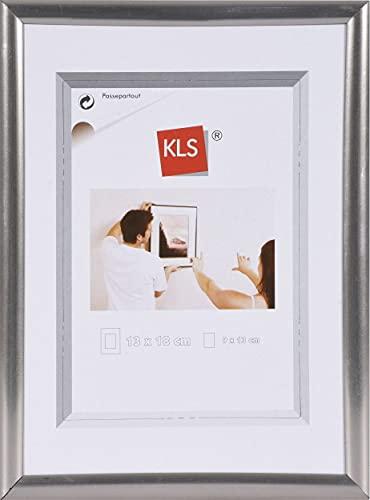 KLS Kunststof fotolijst 60x80 cm staal serie 42