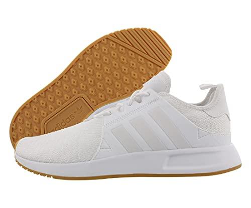 adidas Originals Men's X_PLR Sneaker, White/White/Gum, 11