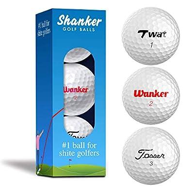 Shanker Golf Balls Rude