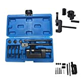 SOFEDY Motorcycle Chain Rivet Tool Kit 13-Piece Set with Blue Carrying Case Motorcycle Bike Chain Breaker Set Cutter Rivet Tool Kits 520/525/530/630 Pitch Sturdy Design