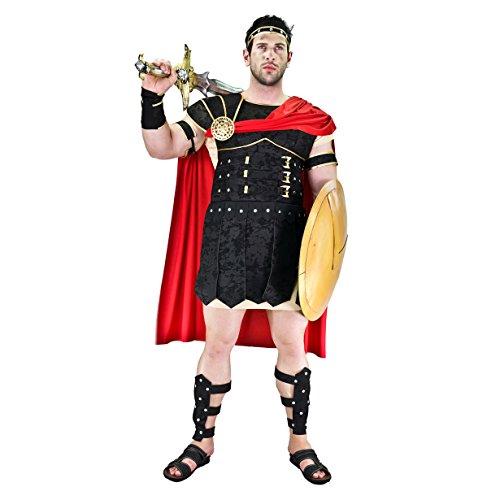SEA HARE Spartanische Krieger Männer Abendkleid -erwachsenes Kostüm griechischer Roman Spartacus Outfit