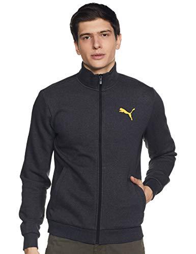 Puma Men Knitted Jacket 20 Dark Gray Heather M