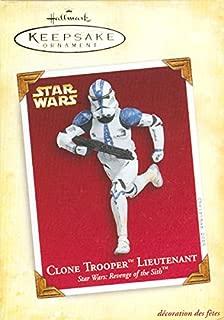 2005 Star Wars Hallmark Keepsake Clone Trooper Lieutenant Ornament