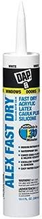 Dap 18425 Alex Fast Dry Acrylic Latex Caulk Plus Silicone 10.1-Ounce