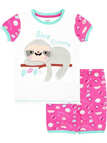 Harry Bear Pijama Corta para niñas Sueños Perezosos Rosa 2-3 Años