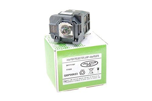 Alda PQ-Premium, Beamerlampe / Ersatzlampe für EPSON EB-1940W Projektoren, Lampe mit Gehäuse