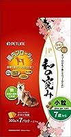 (まとめ買い)ペットライン ジェーピースタイル 和の究み 小粒 7歳から 2.1kg(300g×7パック) 犬用 【×3】