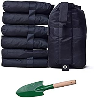 SUPCOOKI Canopy Weight Bags for Pop up Canopy Tent, Sand Bags for Instant Outdoor Sun Shelter Canopy Legs, 4-Pack (Bags Only, Sand Not Included)