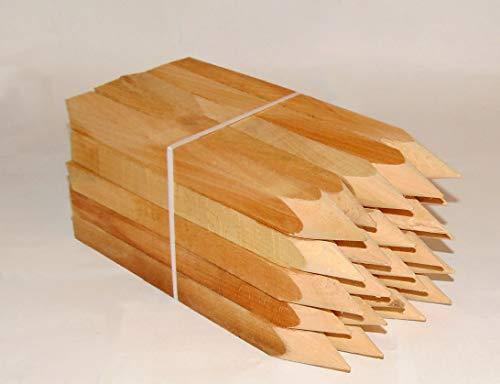 25st. Buchenholz Holzpflöcke 30cm für Vermessung und Garten, Holz pfosten