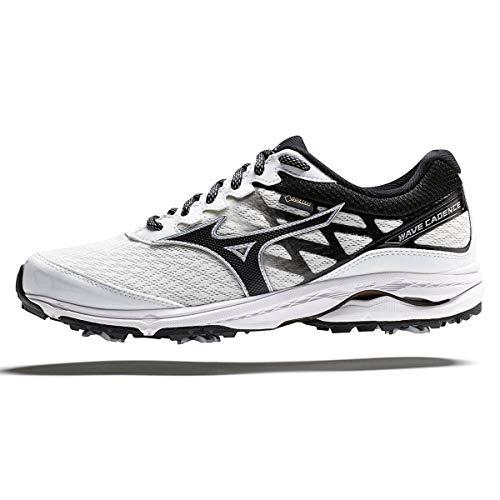 Mizuno Wave Cadence 2 GTX, Chaussures de Golf Homme, Blanc (Blanco 01), 46 EU
