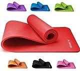 KG Physio Esterilla Yoga (1cm), Colchoneta de Fitness para Gimnasio,...