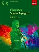 Clarinet Scales & Arpeggios, ABRSM Grades 6-8: from 2018 (ABRSM Scales & Arpeggios)