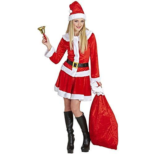 Widmann-Babbo Natale Costume Donna, Multicolore, (S), 14951