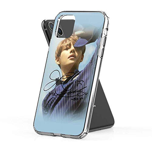 V BTS with Signature Case Cover Compatible for iPhone iPhone (7/8)