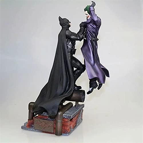 YSDSPTG Figura de acción Batman vs Joker Estatua Figura de acción Toy 300mm Diorama Figuros Modelo Juguetes Anime Batman Joker Figurine (Color : with Retail Box)