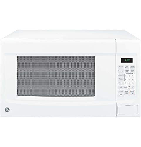 GE JES1460DSWW 1.4 cu. ft. Countertop Microwave - White (Renewed)