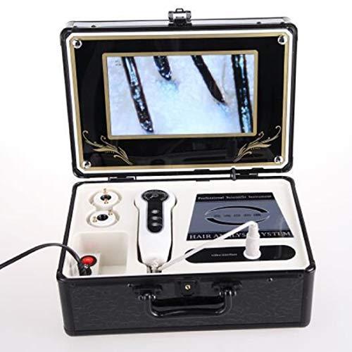 Skin Follicle Detector 9 inch LCD Skin and Hair Analyzer Detector Digital Microscope Magnifier Skin Hair Blackhead Scalp Detector