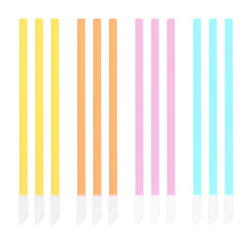 Minkissy 200 Pcs Jetable Brosse À Lèvres Bâton Rouge À Lèvres Applicateur Brillant À Lèvres Testeur Baguettes Applicateurs De Fard À Paupières Maquillage Beauté Outils Kit