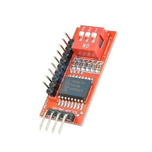 ZTSHBK PCF8574 PCF8574T E/A für I2C-IIC-Port-Schnittstellenunterstützung Kaskadierendes erweitertes Modul für Arduino-Erweiterungskarte High Low Level