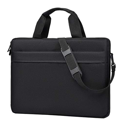 Timagebreze 15.6 Inch Laptop Bag Shockproof Handbag Portable Notebook Sleeve Case Bag for Black