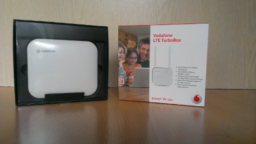 Vodafone LTE TurboBox Modem LG FM300 weiß