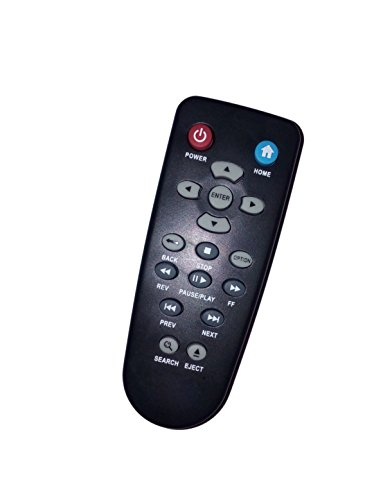 Mando a distancia de repuesto WD Universal para disco duro externo Western Digital TV Mini WDBAAL0000NBK-NESN