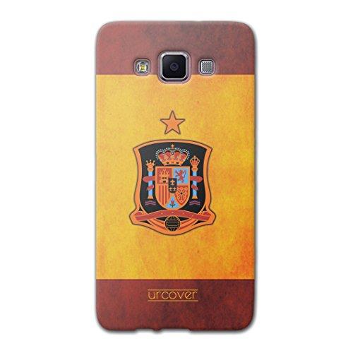 Urcover Compatible con Samsung Galaxy A5 2015 Funda Copa del Mundo 2018 Football Carcasa Trasera Camiseta de Futbol [Team España] Protector Mundial de Fútbol Cover Case TPU Flexible